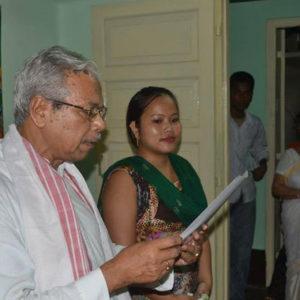 Certificate Distribution Ceremony
